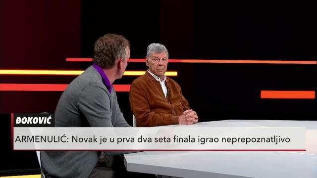 OČEKUJEMO DA ĆE NOVAK NAPRAVITI ZLATNI SLEM: Radmilo Armenlić i Dejan Vukojičić u Usijanju dana o budućnosti Đokovića