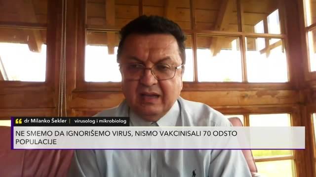 DR MILANKO ŠEKLER POBESNEO: Legalizovali smo ono što smo KRŠILI! Mora preko 80 posto građana da se vakciniše da bi pobedili koronu