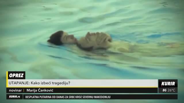 Kako izbeći tragediju na plivanju?
