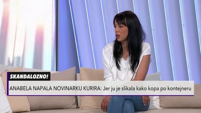 GURALA ME, PSOVALA I VREĐALA! Novinarka Kurira nakon napada Anabele: Rekla je kumu da me drži dok mi je OTIMALA telefon!