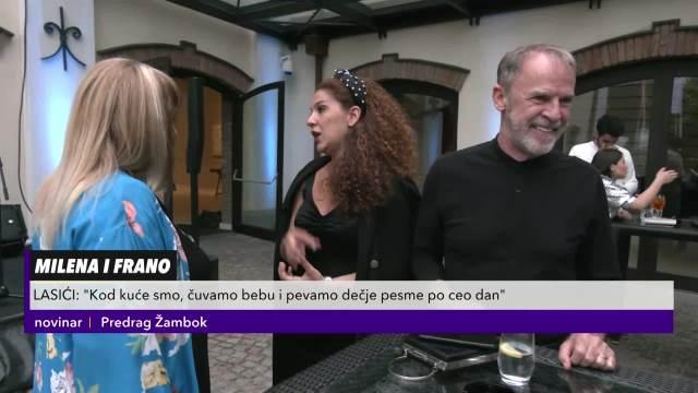 FRANO I MILENA LASIĆ U PROVODU: Za Kurir televiziju otkrili kako se snalaze u roditeljstvu i ko im čuva sina!