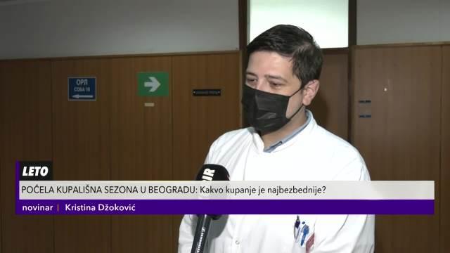 POČELA KUPALIŠNA SEZONA U BEOGRADU: Dr Srđan Matović o bezbednosti na bazenima