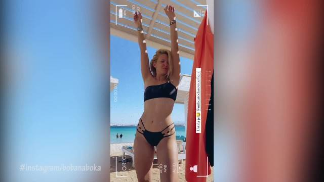 OVAKVE OBLINE POŽELELA BI SVAKA! Za Milicu Todorović su pričali da je anoreksična, a sad je vratila kilograme i IZGLEDA ODLIČNO!