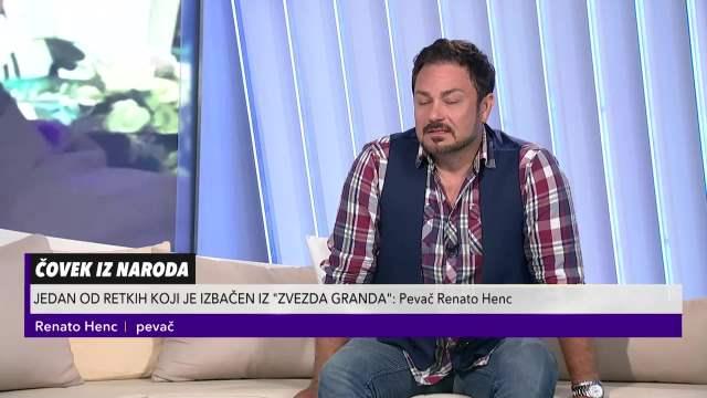 RENATO HENC O UČEŠĆU U ZVEZDAMA GRANDA: Ne žalim što sam otišao, tako je moralo!