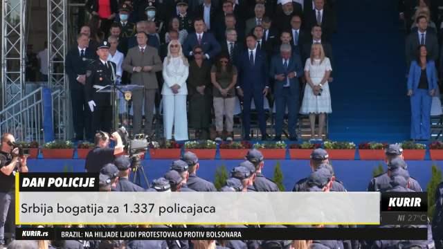 DAN MUPA: Srbija bogatija za 1.337 policajaca