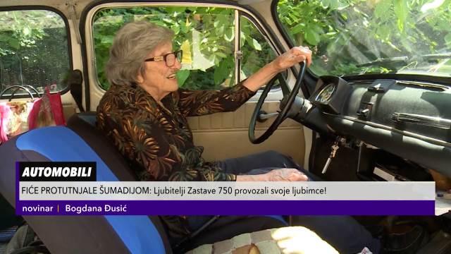 BRANKA JE NAJSTARIJI VOZAČ FIĆE: Ima 90. godina, a od legendarnog automobila ne odustaje