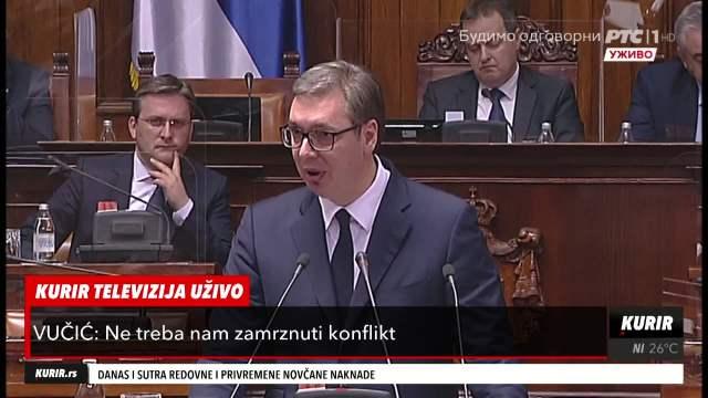 NIJEDAN ALBANAC NEĆE KOMPROMIS! Predsednik Vučić: Ne znam šta je kompromis, ali je to jedino rešenje za KiM
