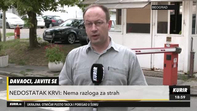 APEL LEKARA: Nema opasnosti od korone, slobodno dajte krv! (KURIR TV)