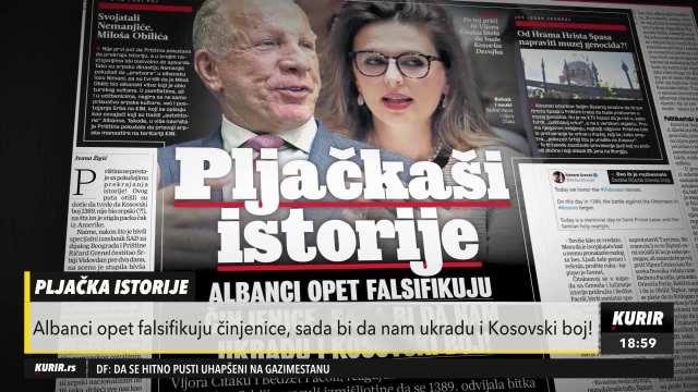 Albanci prekrajajaju istorijske činjenice o Kosovskom boju