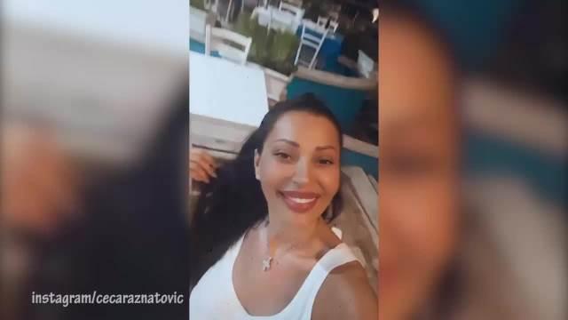 CECA UŽIVA ZA SVE PARE! Ražnatovićka pokazala snimak sa ODMORA, a svi su primetili OVAJ detalj na njoj! (VIDEO)
