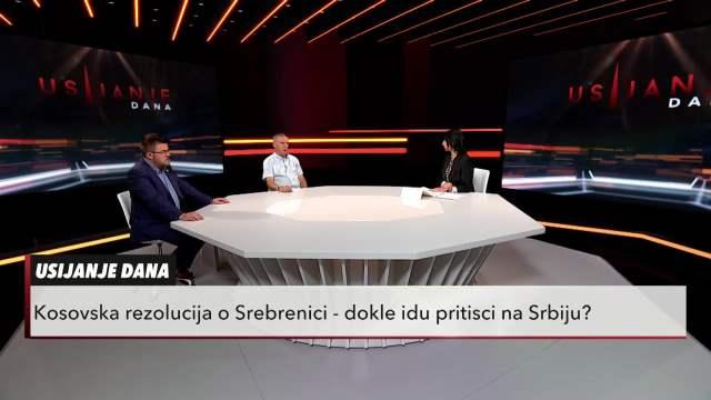 UŽIVO! REZOLUCIJE O SREBRENICI: Pisane su spolja, Vučić nije podlegao ni pod jačim pritiscima, Kurti i Osmani nemaju kredibilitet