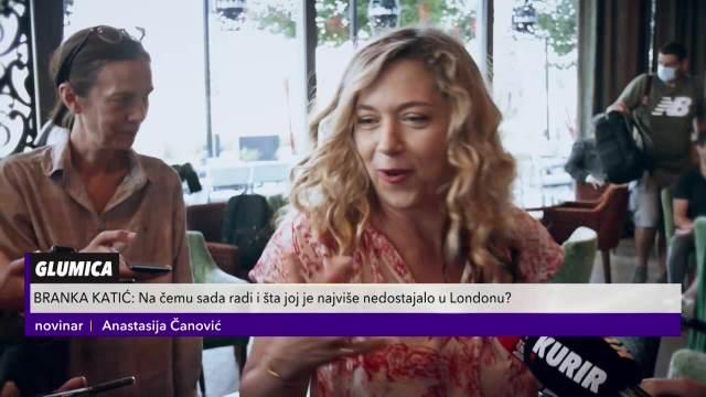 VREME JE DA POSVETIM KARIJERI: Branka Katić progovorila o projektima u Srbiji, ali i o POVRATKU U BEOGRAD SA PORODICOM!