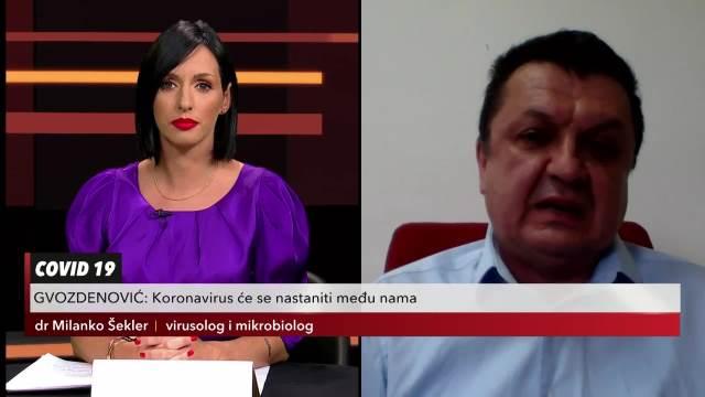 DR MILANKO O NOVIM SOJEVIMA KORONA VIRUSA: Činjenica je da virus mutira, najprisutniji je beta soj!