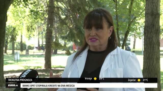 NADA MACURA: U Srbiji je ovih dana tropska klima, evo kome najviše smeta (KURIR TV)