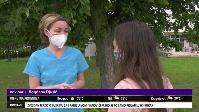 ONA LEČI NAJTEŽE OBOLELE PACIJENTE OD KORONE: Rad u karantinskoj bolnici kao u horor filmu (KURIR TV)