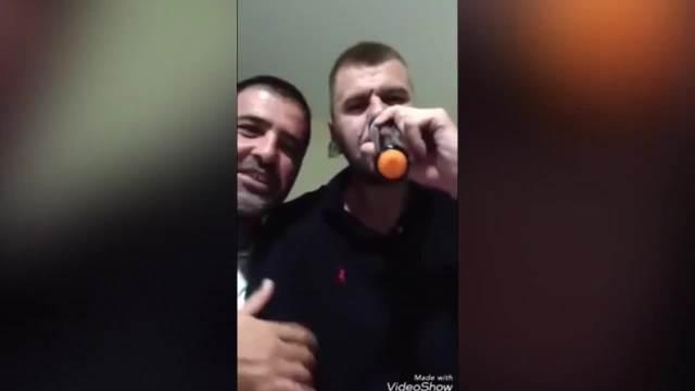 Janjuš posle zadruge sa ženom na slavlju