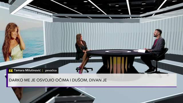 TAMARA MILUTINOVIĆ O NOVOM DEČKU FUDBALERU: Darko me je osvojio očima i dušom, divan je! Jako smo srećni!