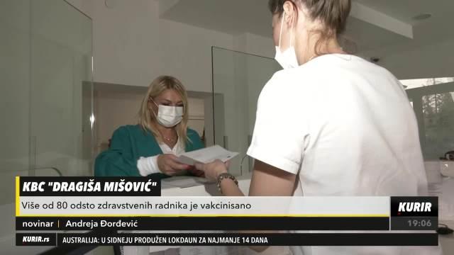 BOLNICE U SRBIJI POČELE DA UVODE NOVO PRAVILO: Nevakcinisani medicinski radnici sa odmora na posao samo uz PCR test o svom trošku