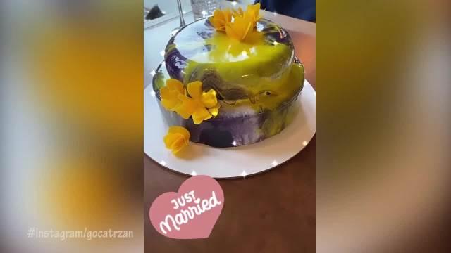 ODABRANIH 15 ZVANICA ZA VENČANIM STOLOM: Goca mužu Raši ispunila ovu ŽELJU, a svadbena torta je puna SIMBOLA (VIDEO)