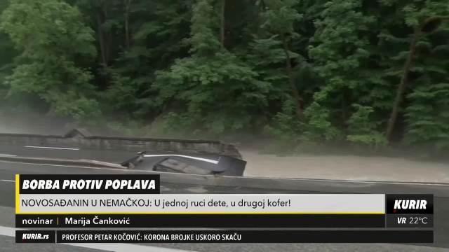 Novosađanin opisao kako je bežao pred poplavama u Hagenu po mrklom mraku