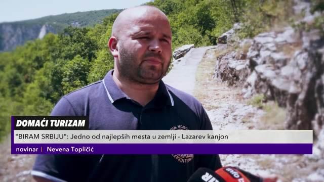 DOMAĆI TURIZAM: Jedno od najlepših mesta u Srbiji- Lazarev kanjon