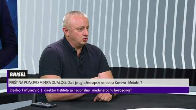 DARKO TRIFUNOVIĆ O BRISELSKIM PREGOVORIMA: Kurti živi u svojim snovima, Srbija treba da nađe način da zaštiti svoje stanovništvo
