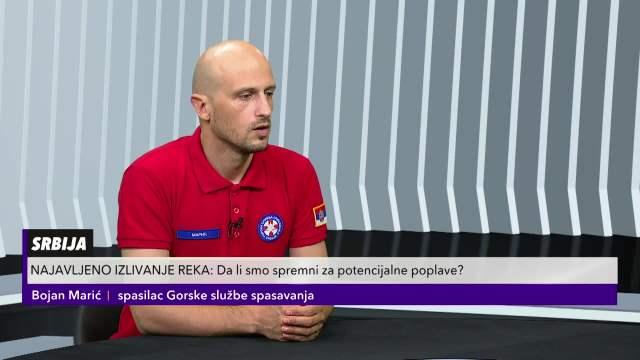 BOJAN MARIĆ, SPASILAC GORSKE SLUŽBE: U pripravnosti smo, nadam se da će nas zaobići poplave!