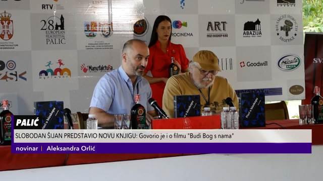 ŠIJAN PREDSTAVIO NOVU KNJIGU: Svet filma viđen očima Nušića, Andrića i Crnjanskog