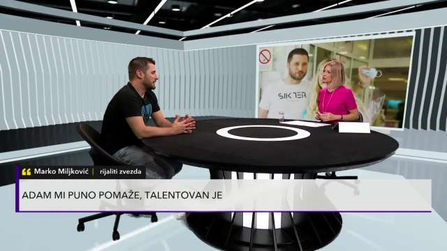 FANOVI ĆE ODLEPITI! Marko Miljković za Kurir otkrio da li će sa Lunom OPET ući u RIJALITI, izlanuo se pred kamerama o PLANOVIMA!
