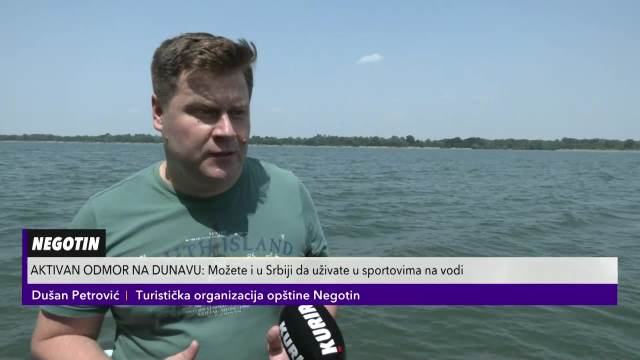 I U SRBIJI MOŽE DA SE UŽIVA U SPORTOVIMA NA VODI! Plaža nadomak Negotina je prava prirodna OAZA!
