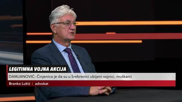 USIJANJE DANA, DOKAZ DA U SREBRENICI NIJE BIO GENOCID: Branko Lukić, advokat: Hag je primenio svoju definiciju genocida