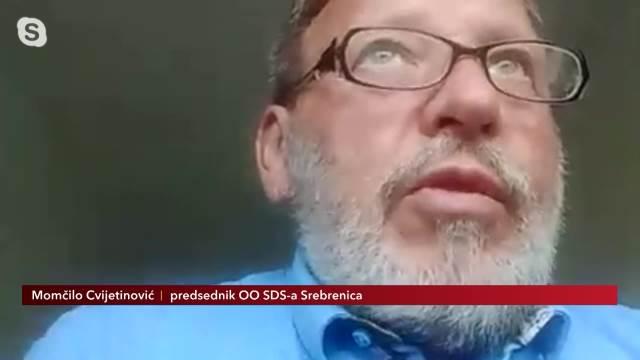 Momčilo Cvijetinović, predsjednik OO SDS-a Srebrenica: U Srebrenici se nije desilo uništenje cele populacije