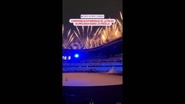 Spektakularni vatromet označio početak otvaranja Olimpijskih igara