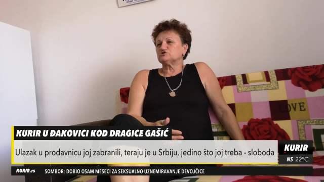 KURIR U ĐAKOVICI KOD DRAGICE GAŠIĆ: Albanci ne žele da joj prodaju ni VEKNU HLEBA