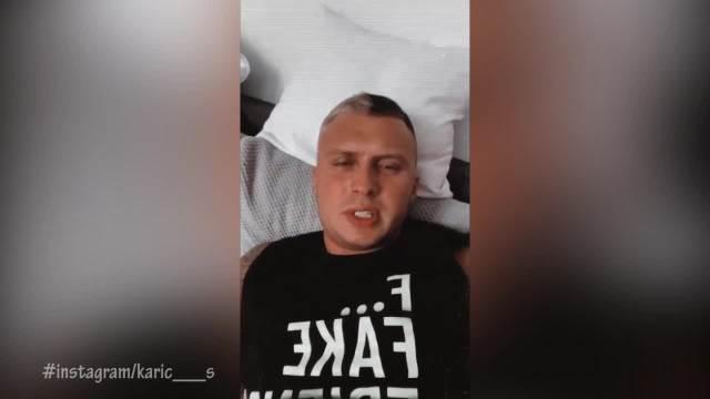 KARIĆ OPASNO POTKAČIO KIJU KOCKAR: Stefan tvrdi da mu je pevačica pisala BEZOBRAZNE poruke, pa ih javno PODELIO! (VIDEO)