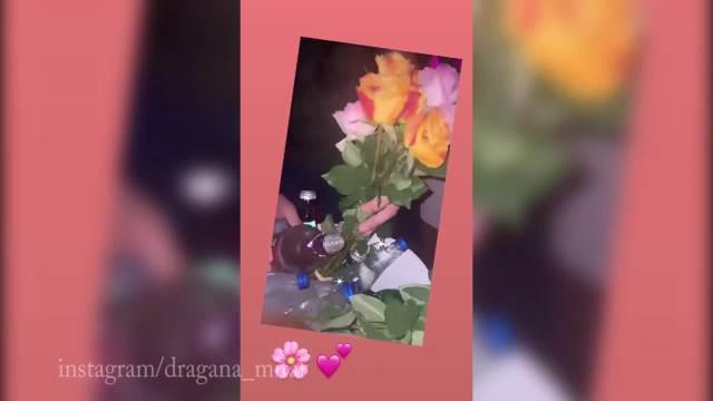 DRAGANA MITAR I EDIS FETIĆ LUMPOVALI DO ZORE! Nakon pomirenja uhvaćeni u noćnom klubu u Beogradu, on joj ISPRED SVIH poklonio RUŽE