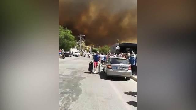 Požar u Bodrumu