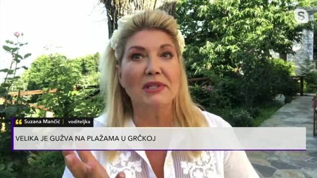 SUZANA MANČIĆ UŽIVA U LUKSUZU! Javila se iz vile u Grčkoj: Veliko dvorište i pogled na more, a mesto SAVRŠENSTVO!