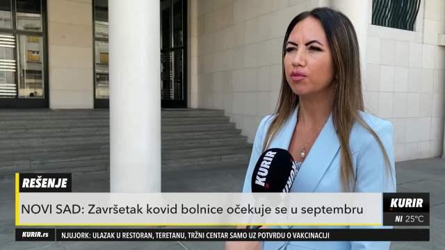 NOVI SAD U SEPTEMBRU OTVARA VRATA KOVID BOLNICE: Veliki značaj za unapređenje zdravstvenog sistema u Vojvodini