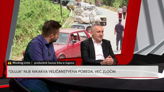 MIODRAG LINTA O PROSLAVI OLUJE: Hrvatska je država mržnje prema Srbima i svemu što je srpsko
