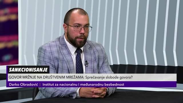 OBRADOVIĆ O DRUŠTVENIM MREŽAMA I GOVORU MRŽNJE: Ruska Federacija kreira podele na Balkanu!