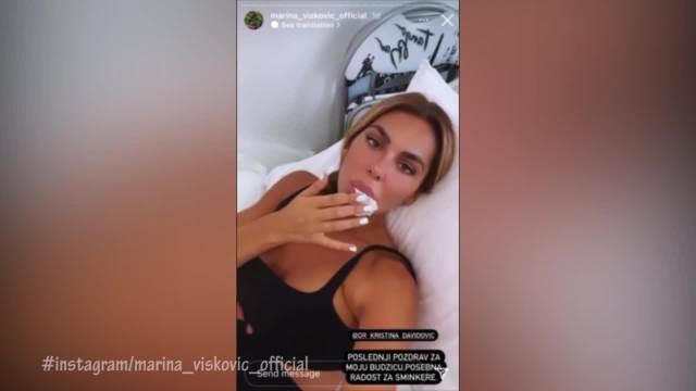 MARINA VISKOVIĆ NA NOVOM ESTETSKOM ZAHVATU! Pevačica rešila da vadi VIŠAK iz usana, obratila se pratiocima sa KLINIKE! (VIDEO)