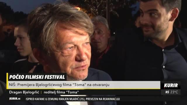 POČEO FILMSKI FESTIVAL U NIŠU: Premijera Bjelogrlićevog filma Toma na otvaranju
