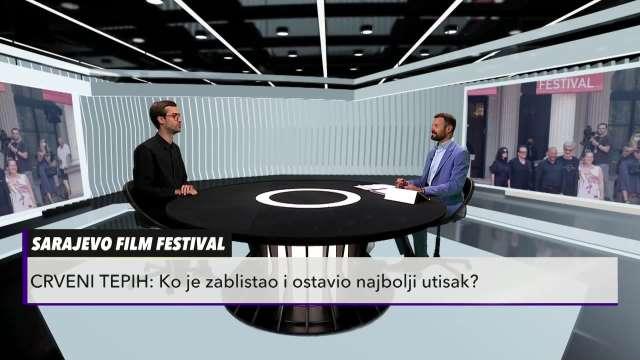 MODNI KREATOR O TOALETAMA NA FILMSKOM FESTIVALU U SARAJEVU: Crna boja je dominirala, a ona je ZICER na crvenom tepihu!