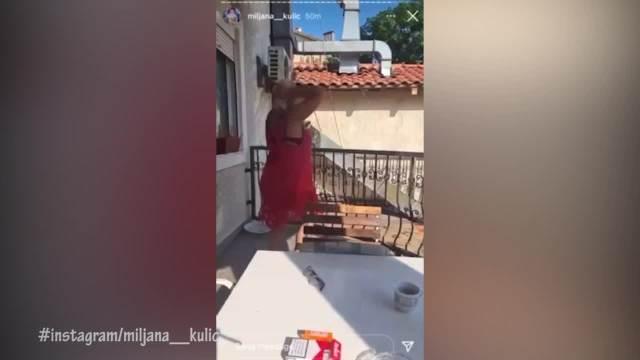 ŠTA TO RADIŠ, MAMA? Miljana krišom snimala MAJKU kako zanosno PLEŠE u izazovnom izdanju, evo kako je MARIJA KULIĆ reagovala! VIDEO