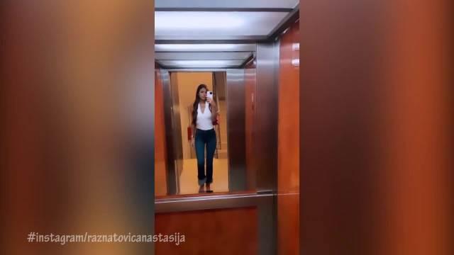 ANASTASIJA SE TOP SREDILA ZA IZLAZAK! Ražnatovićeva dominira u gradu, izgleda kao MODEL, a u CIPELE joj svi gledaju! (VIDEO)
