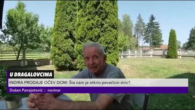 INDIRA PRODAJE OČEV DOM: Evo šta je otkrio pevačicin stric