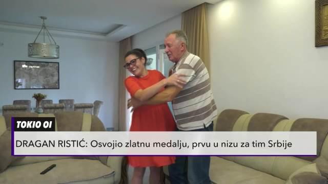 KURIR TELEVIZIJA U KUĆI PARAOLIMPIJCA KOJI JE DONEO ZLATO SRBIJI! Porodica Ristić presrećna, očekuju još medalja