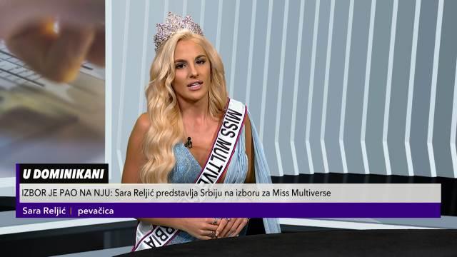 SARA RELJIĆ ZA KURIR TV: Ovako sam došla do titule misice
