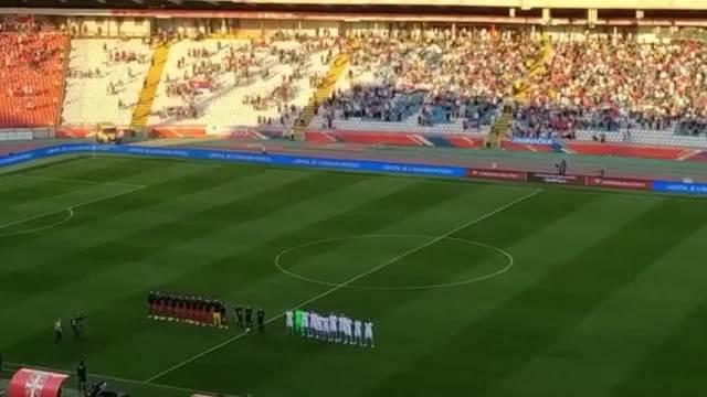 PIKSI PRVI PUT PRED NAVIJAČIMA! Marakana dočekala da pozdravi selektora i fudbalere Srbije! Orilo se Bože pravde VIDEO
